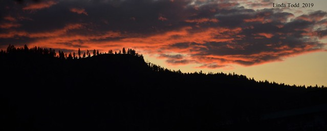 Tonight's sunset.....