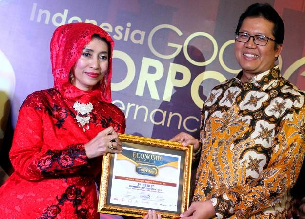 BTN Terima Penghargaan The Best Indonesia GCG Implementation 2019