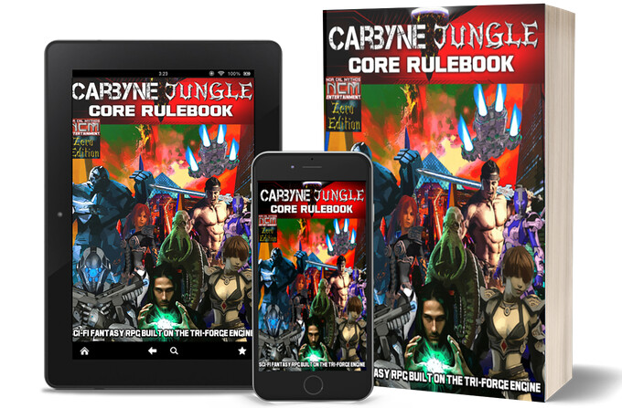 Libro de reglas de Carbyne Jungle