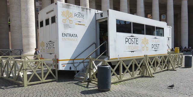 Post Office 00120 (Vatican City, Vatican City)