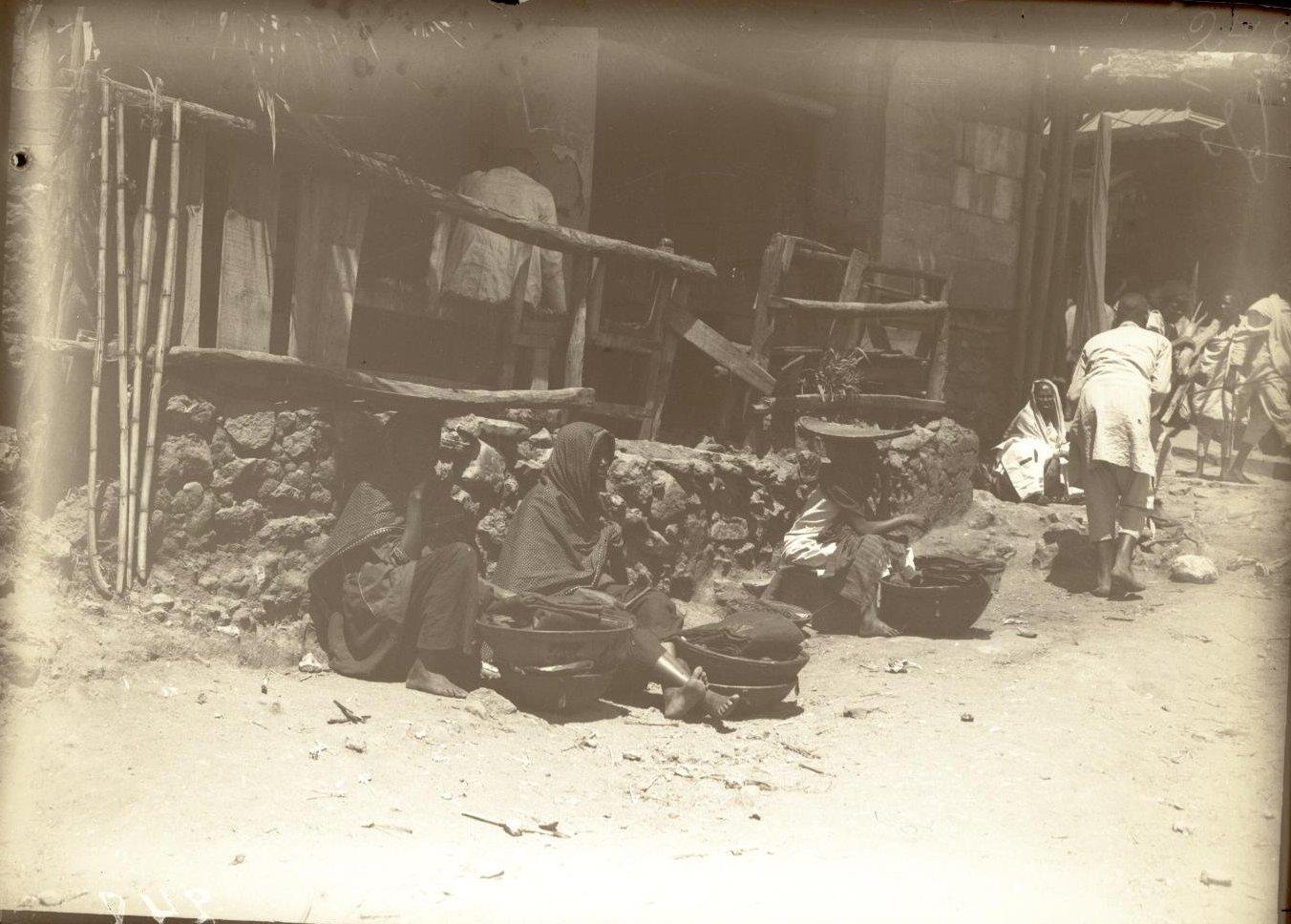 248. Абиссиния, провинция Харар, г. Харар. На базаре