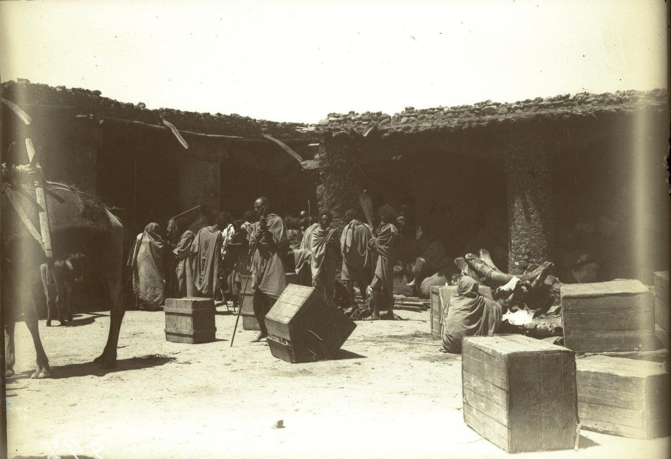 247. Абиссиния, провинция Харар, г. Харар. В таможне