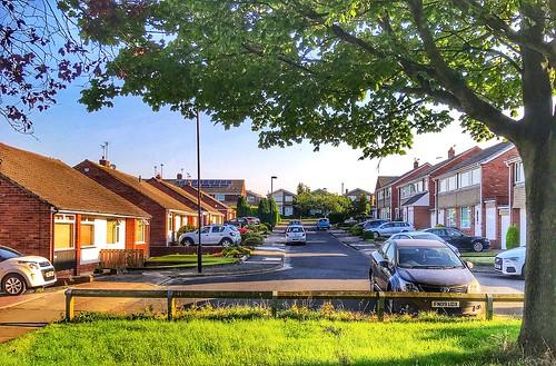 cars house westerhope newcastle view street appleiphone7plus buildings vehicles