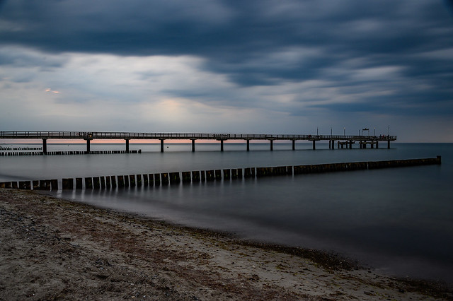 Baltic Sea - Jetty Bridge - Heiligendamm - 4143