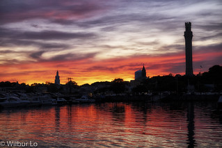 Sunset in Provincetown