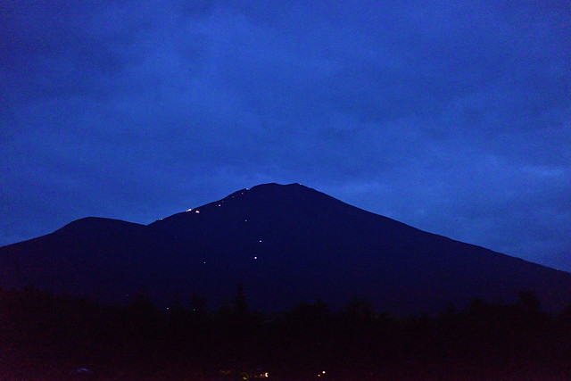 Mount Fuji Lights for Climbers