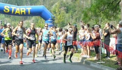 Malý svratecký maraton vyhráli Exner a dobíhající bosá Komárková