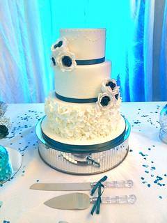 Wedding cake - Mandy