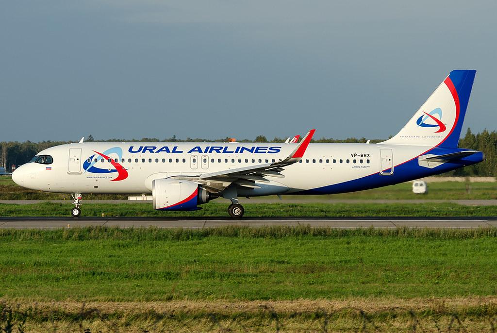 VP-BRX Ural Airlines Airbus A320-251N