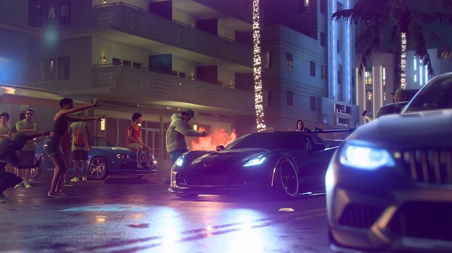Need For Speed Heat - Manejo nocturno