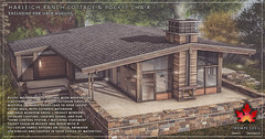 Trompe Loeil - Harleigh Ranch Cottage & Pocket Chair for Uber August