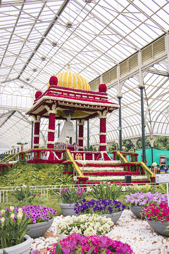 Lalbagh, flower show Aug 2019