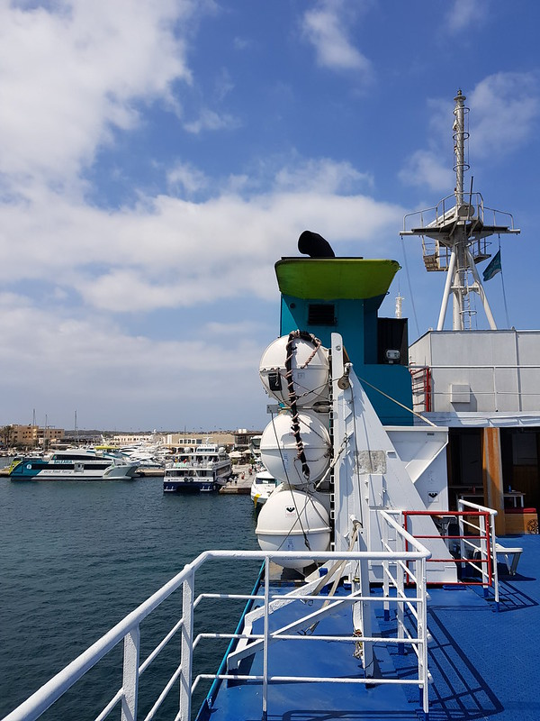 Posidonia, Baleària @ La Savina, Formentera.