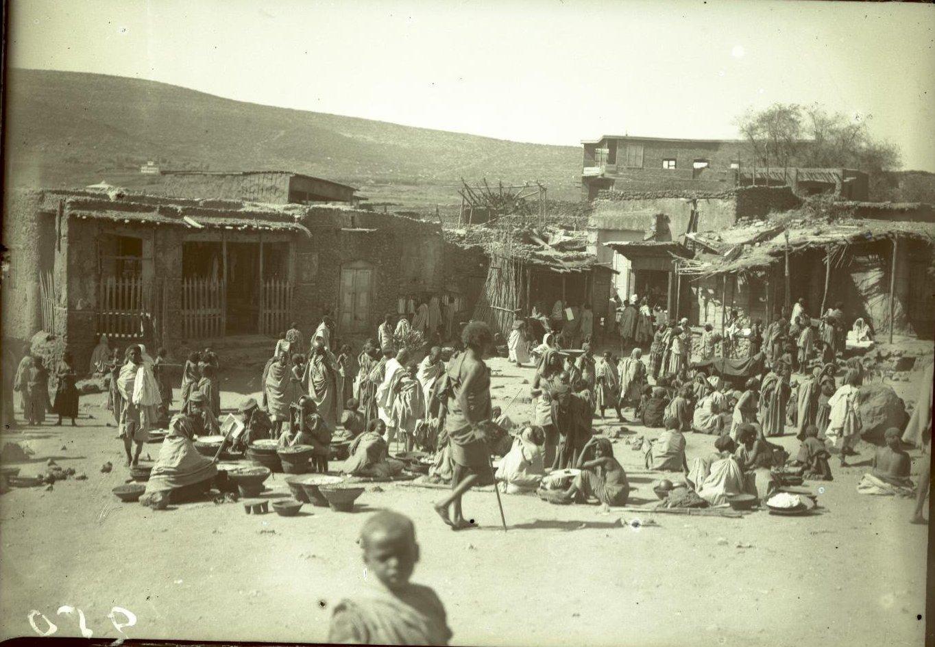250. Абиссиния, провинция Харар, г. Харар. На базаре