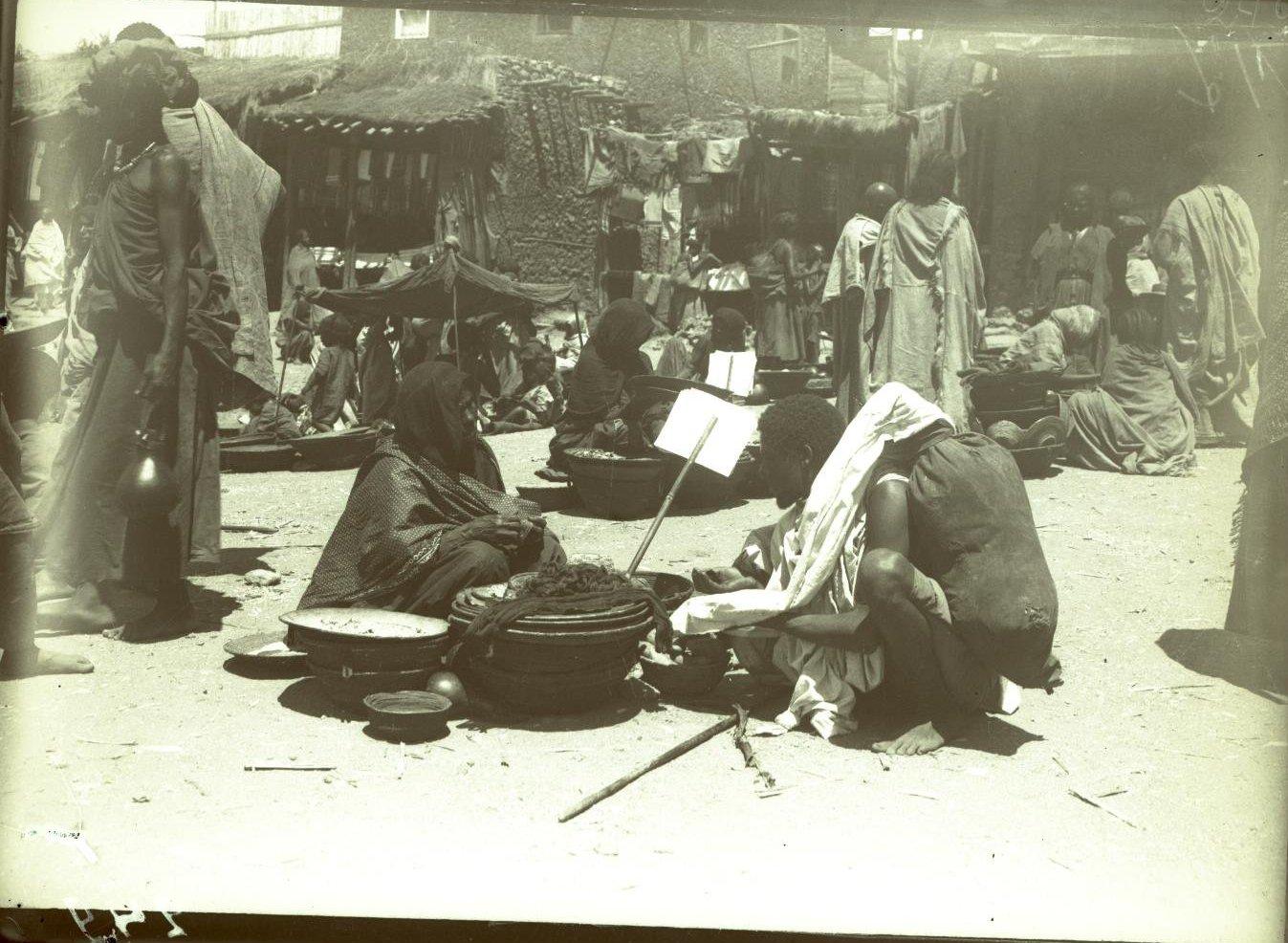249. Абиссиния, провинция Харар, г. Харар. На базаре