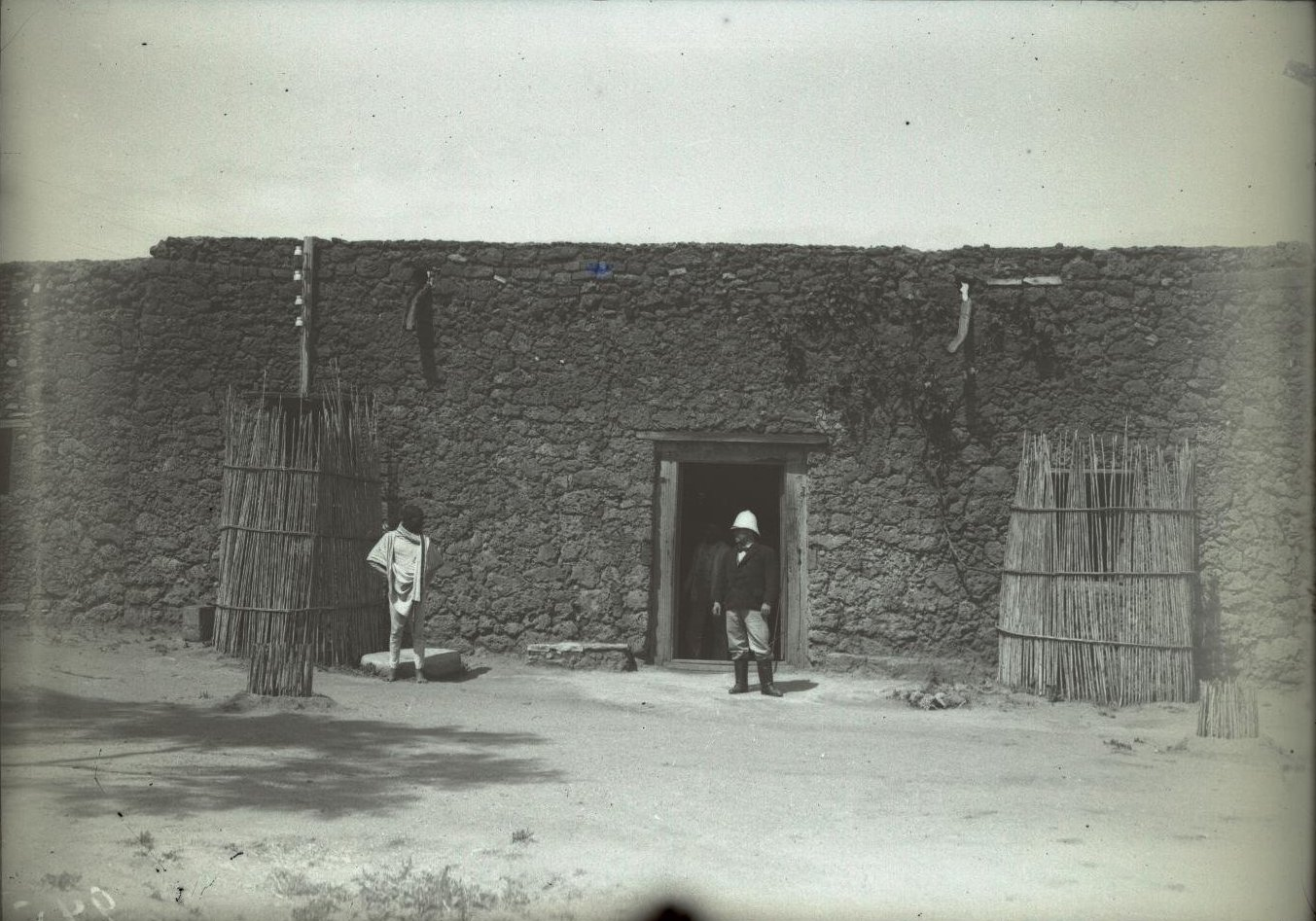 245. Абиссиния, провинция Харар, г. Харар. Телеграфная и телефонная станция