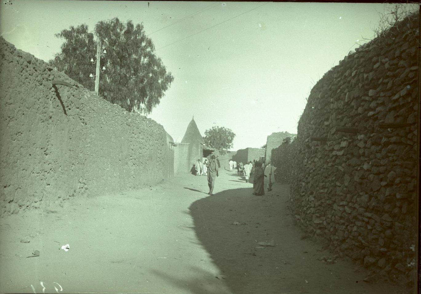 231. Абиссиния, провинция Харар, г. Харар. Улица