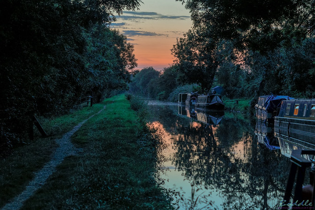 Canal At Brinklow 24th August 2019