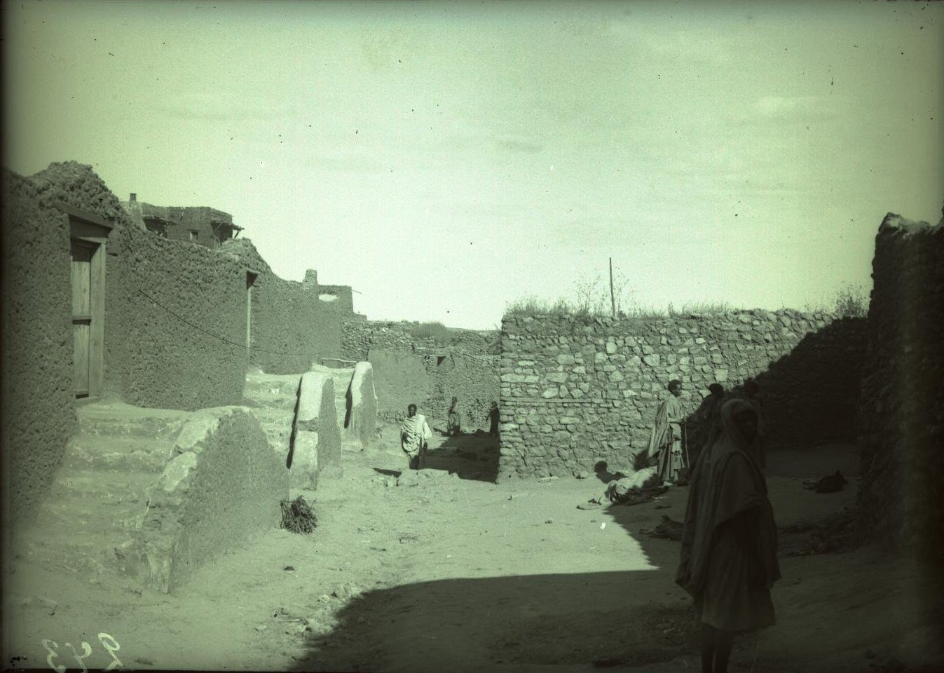 243. Абиссиния, провинция Харар, г. Харар. Улица