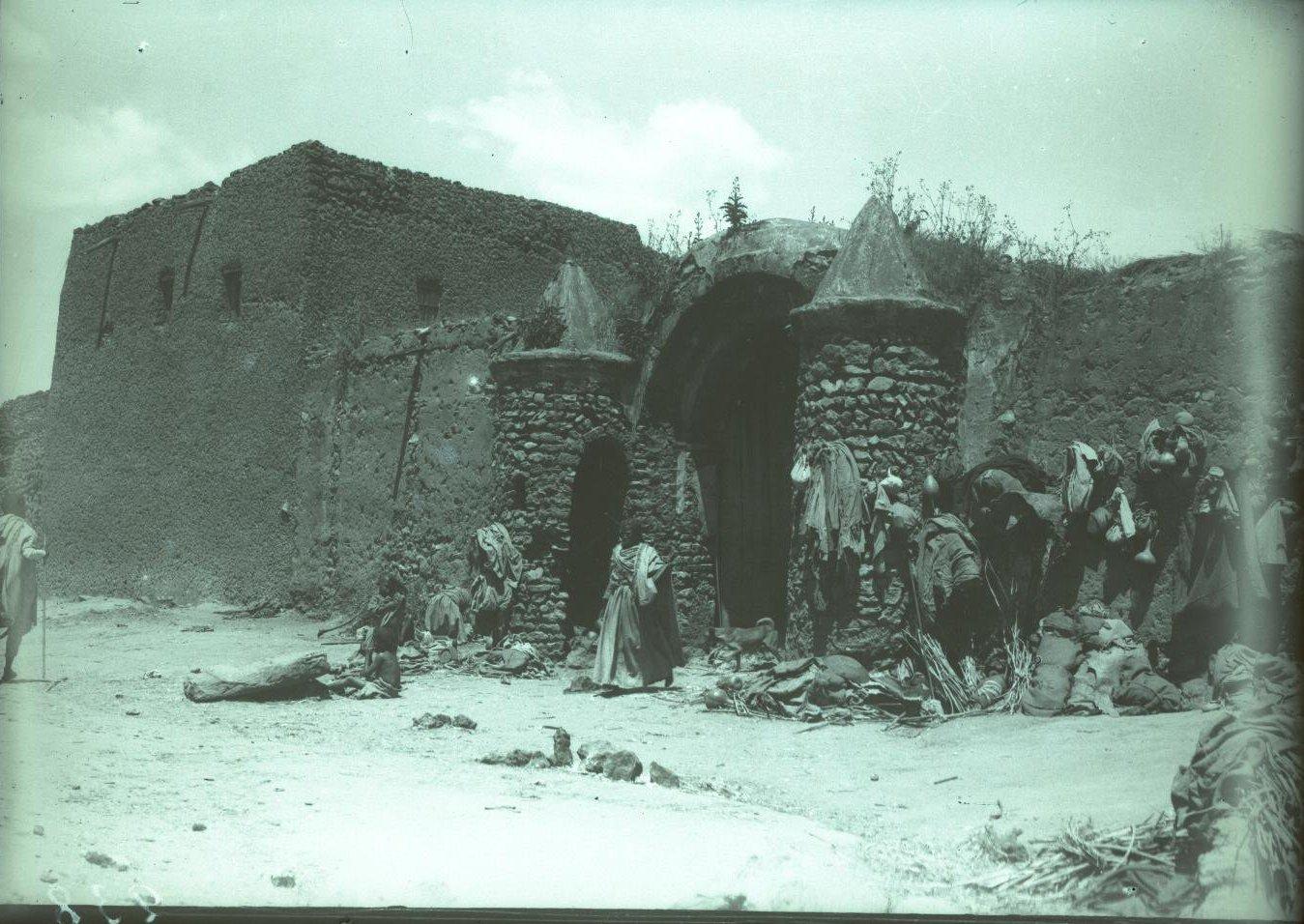 238. Абиссиния, провинция Харар, г. Харар. Место кочевки прокаженных