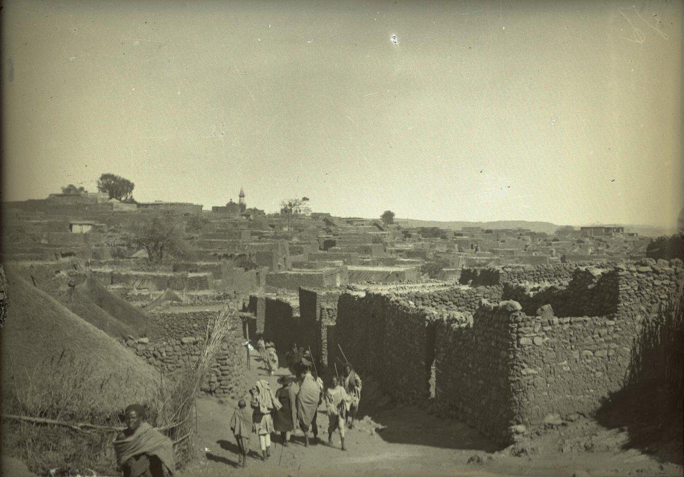 227. Абиссиния, провинция Харар, г. Харар. Общий вид