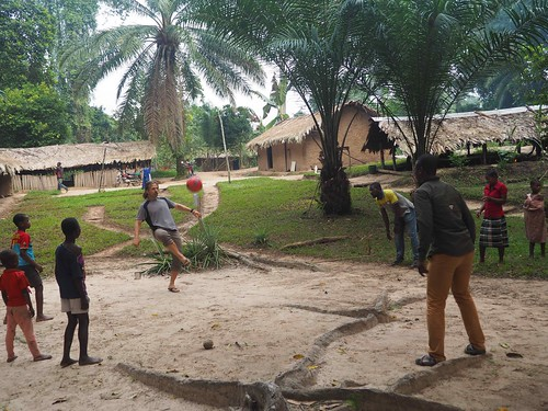 Katopa village comes down for some soccer