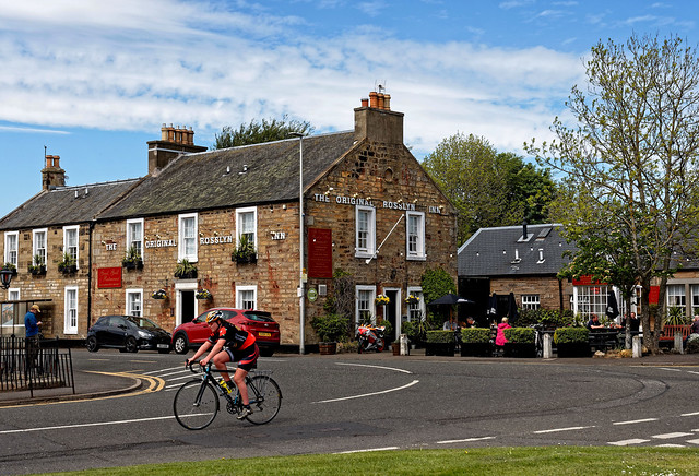 Scotland / Roslin / The Original Rosslyn / Hotel Restaurant