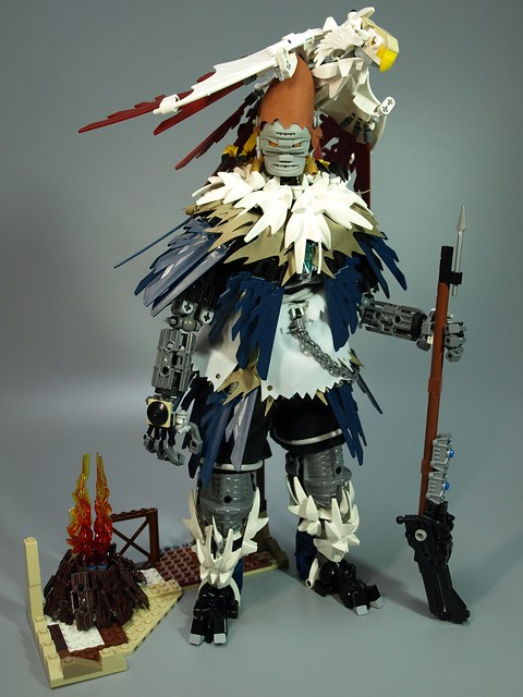 Hawker, The man who hunt with Hawk