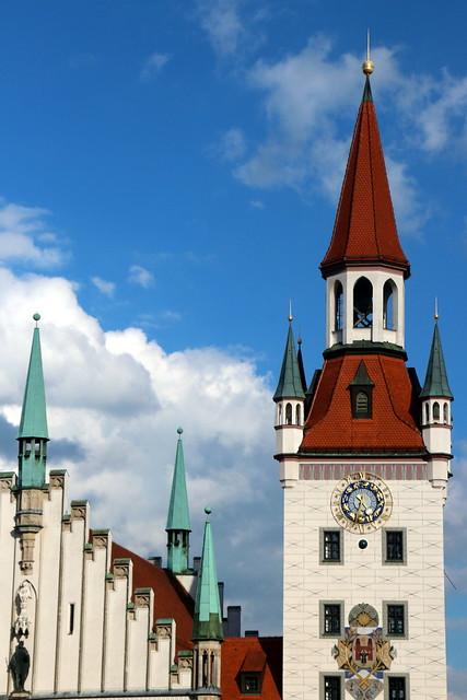 The Spires Of Munich