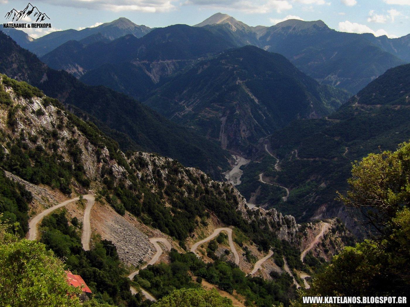 δρομος για δερματι ευρυτανιας ξεχασμενα χωρια της ορεινης ελλαδας