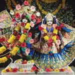 ISKCON Rajkot Deity Darshan 25 Aug 2019