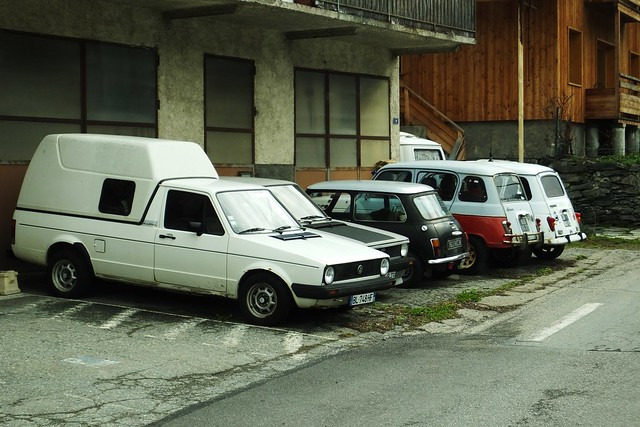 VW Golf I Pick-up Bourg St Maurice (73 Savoie) 29-03-15a