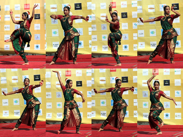 Solo Dance Contest at the Festival of India