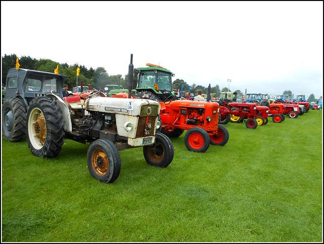 Array of Vintage Tractors ..