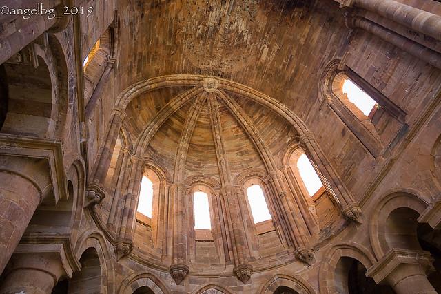 Granja de Moreruela: interior del ábside