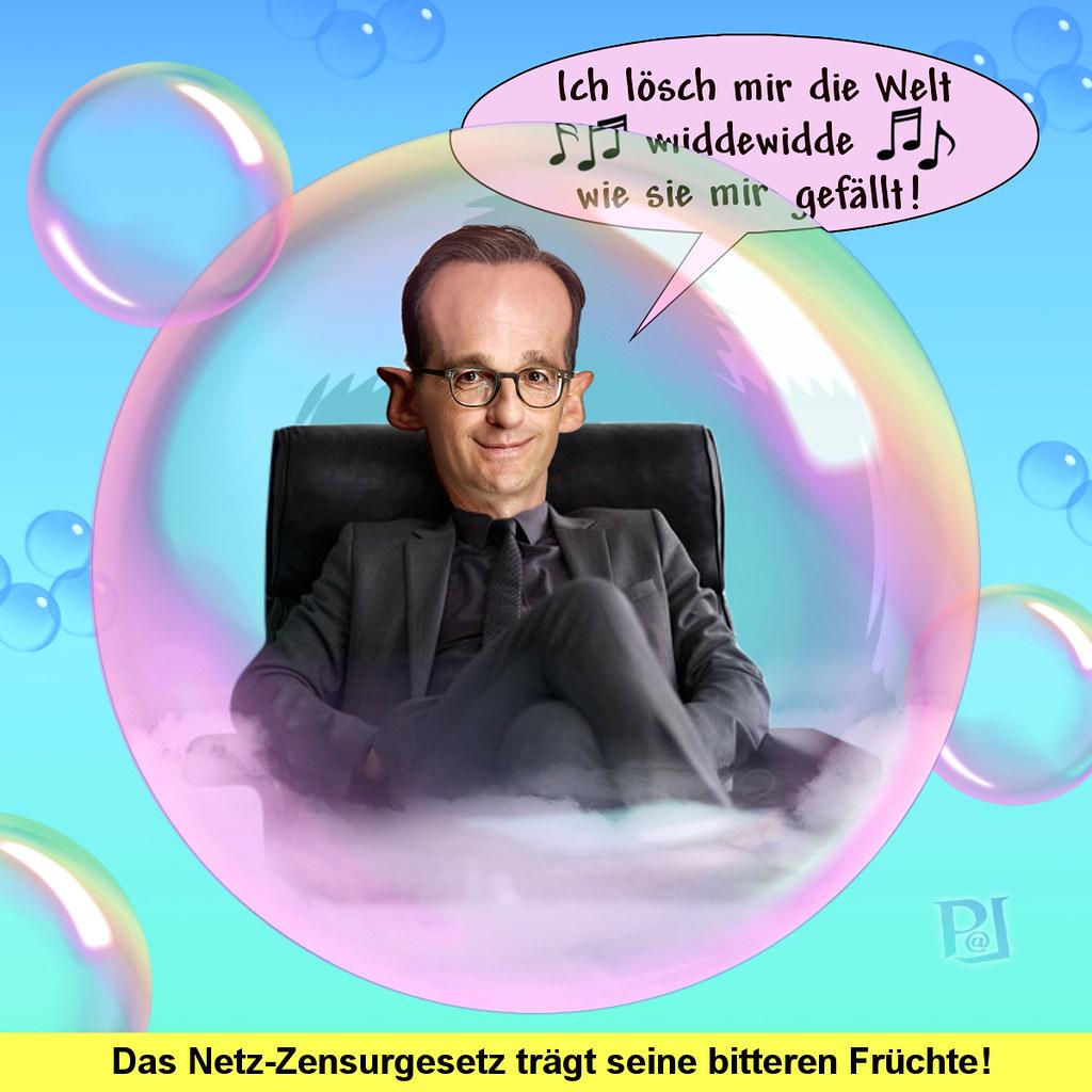 Heiko Maas in seiner Filterblase