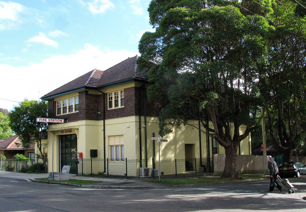 Fire Station, Willoughby, Sydney, NSW.