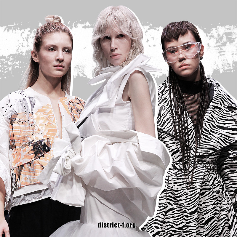 DISTRICT F — HAIR TRENDS — MBFW Russia, Futurum Moscow — AW19