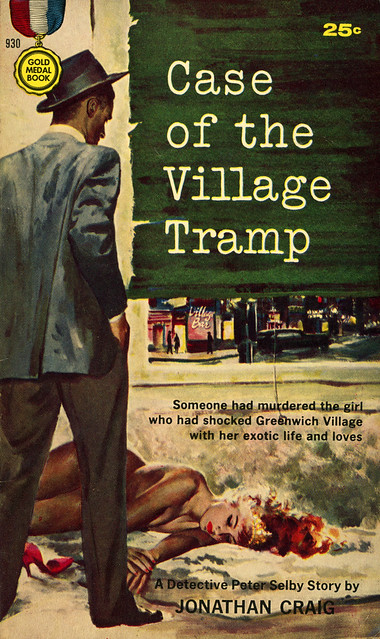Gold Medal Books 930 - Jonathan Craig - Case of the Village Tramp