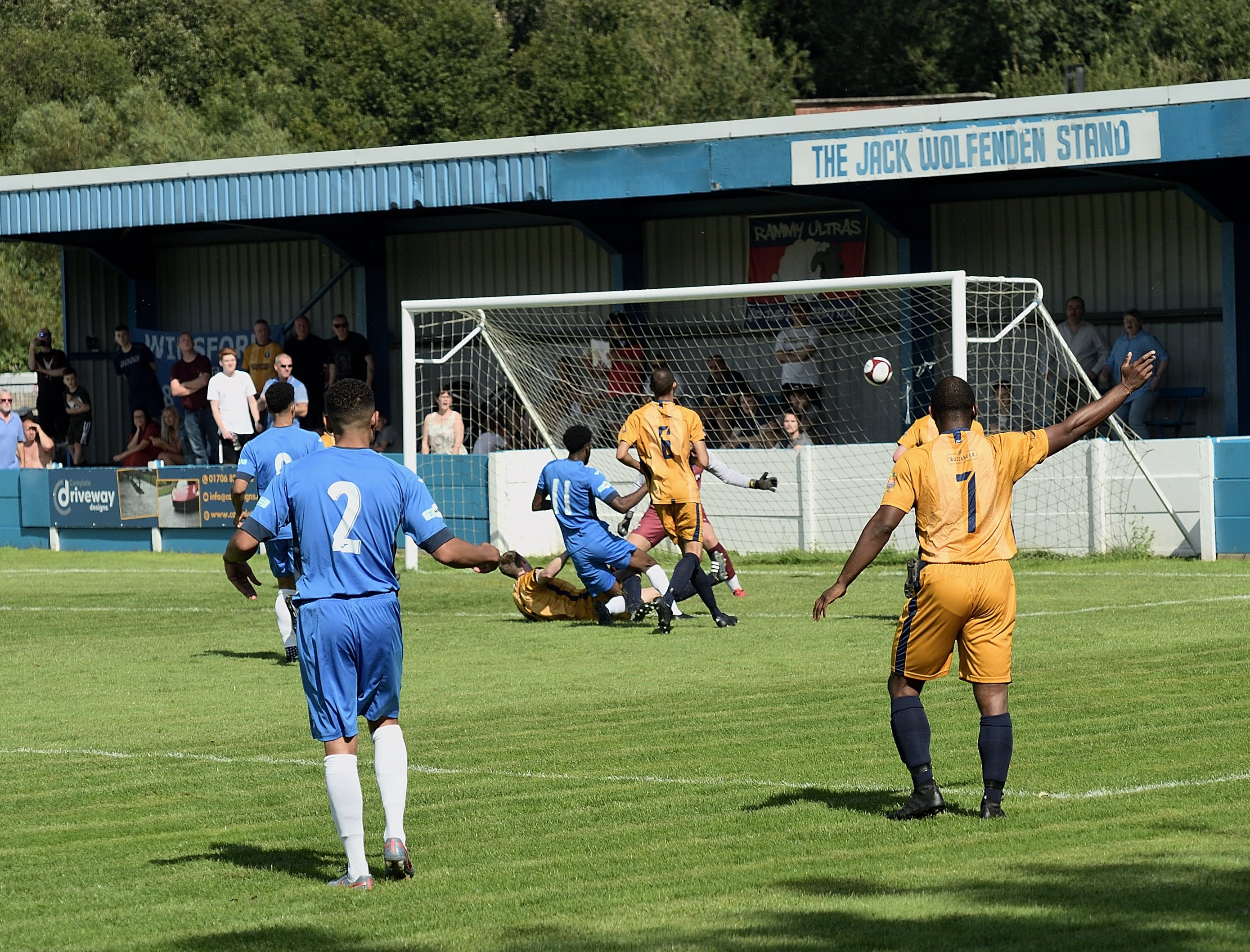 Rams 3 Winsford United 3 - Match Action