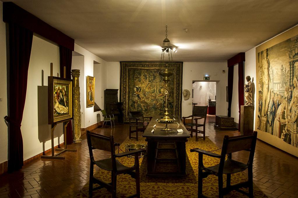 Palacio de Fabio Nelli-Museo de Valladolid-Salón Central del piso superior