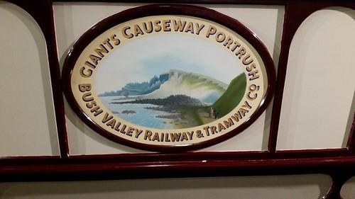 Giants Causeway Tramway Car