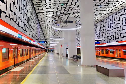 Urheilupuisto metro station, Espoo, Finland