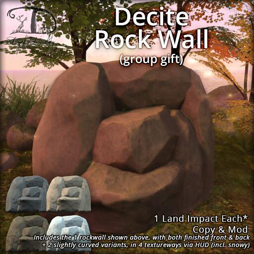 Decite Rock Wall