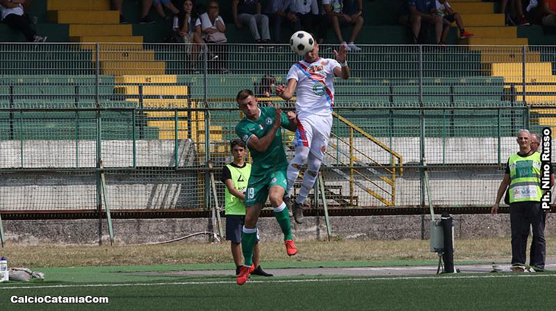 Kevin Biondi in azione ad Avellino nella scorsa stagione