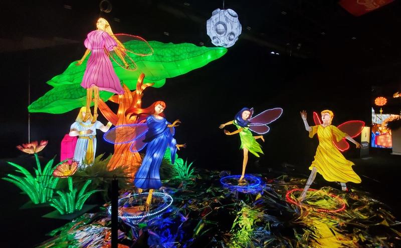 CNE lantern festival fairies