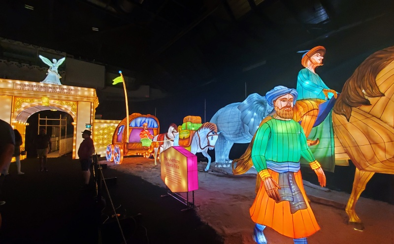CNE lantern festival Marco Polo