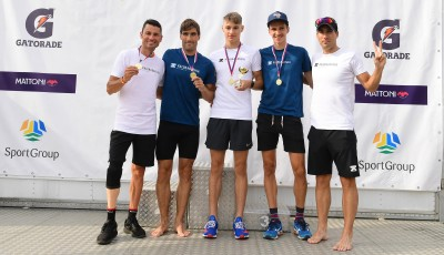 Nezdolný cyklista Ježek ozdobil i běžeckou štafetu Kalokagathia