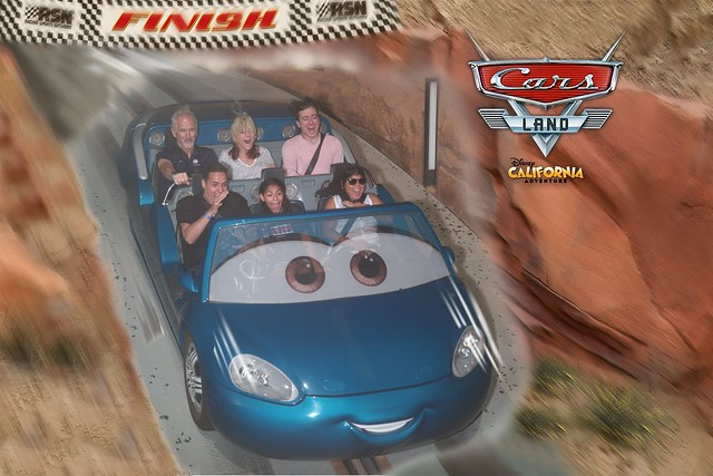At Cars Land