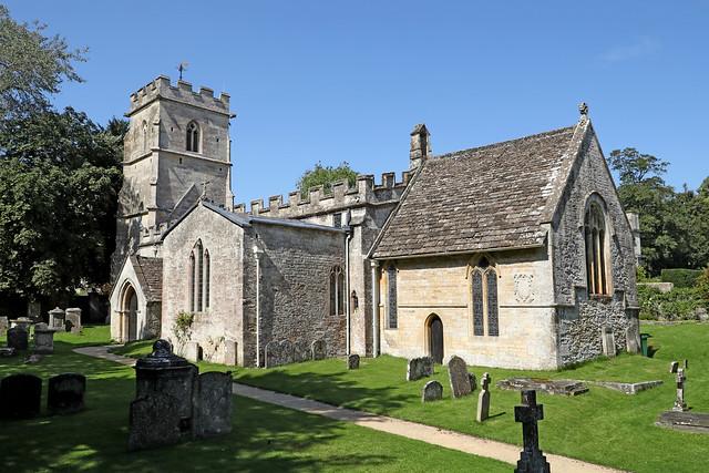 Holy Rood Church, Ampney Crucis